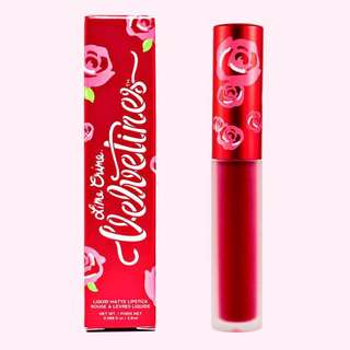 Lime Crime Velvetines - red rose