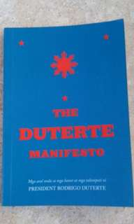 The Duterte Manifesto