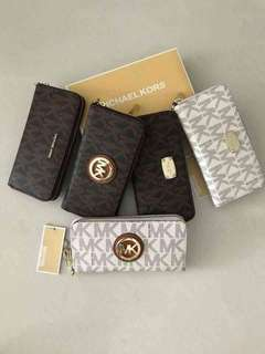 MK Long Wallet *Authentic Quality