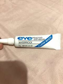 Eye - eyelash adhesive