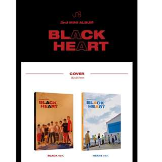 [PREORDER] UNB (유앤비) - BLACK HEART (2ND Mini Album)