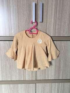 Baju raya baby girl 5-9 mos