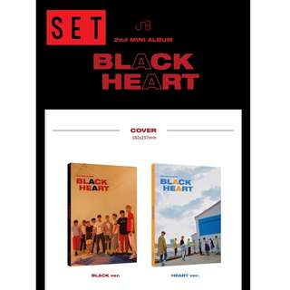 [PREORDER] [SET] UNB (유앤비) - BLACK HEART (2ND Mini Album)