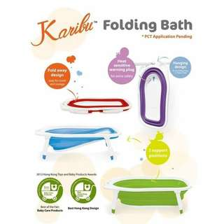 Karibu tubby foldable bathtub-Ducky