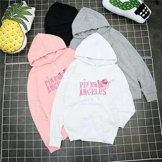Pink Panther Cute Ulzzang Hoodie *White**Black*