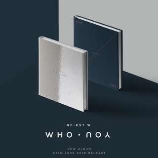 [PREORDER] NU'EST W (뉴이스트 W) - WHO, YOU