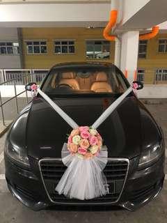 Wedding Car Deco Service
