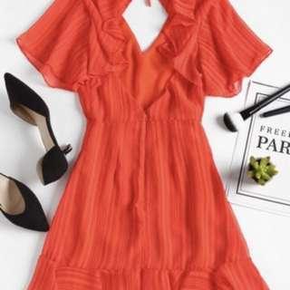Zaful Red classy dress.