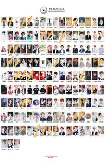 WTB Baekhyun Photocards