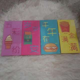 Red Packet macdonald 1 Set