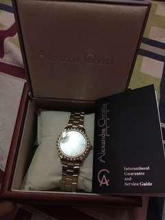 Jam tangan wanita (gold)