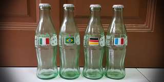 World Cup '98 Coca Cola Bottles