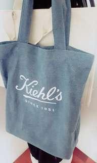 🚚 Kiehl's帆布袋 超大超好裝!!👍近全新哦!!