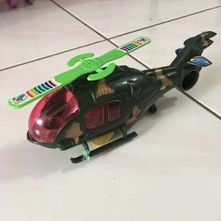 Helicopter Pull & Run Toys