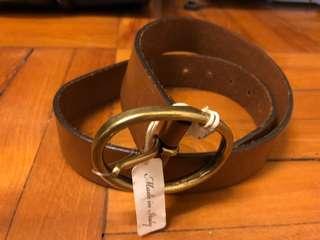 Club Monaco Leather Belt For Men 男裝 皮帶 全新