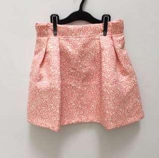 Premium korean pink skirt