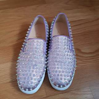 2018 Christian Louboutin Ladies Roller Boat Shoes sz38 with receipt