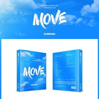[PREORDER] SHINHWA (신화) 19TH ANNIVERSARY SUMMER LIVE [MOVE] DVD (2 DISC)