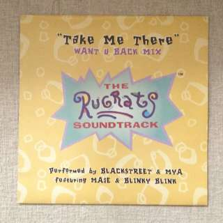 "12"": The Rugrats Soundtrack - Take Me There Single Vinyl Record"