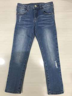 Zara kids blue jeans