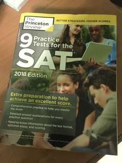 New SAT 2018 Prep Book