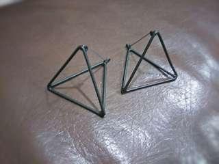 🚚 幾何圖形耳環