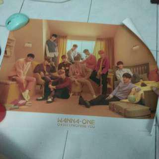 Wanna One I Promise You Day ver Poster
