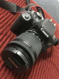 Camera for sell -CANON DSLR EOS 750D -Wifi/NFC Function -Condition 10/10 (8.8.2017)  Thanks You.