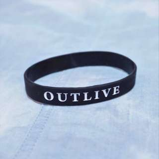 Outlive Rubber Wristband