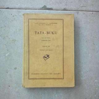 Buku Kuno Tata Buku Djilid III