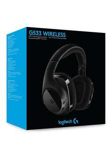 BNIB local sealed Logitech G533 Wireless Gaming Headset with DTS 7.1 Surround Sound (2-yr local warranty)