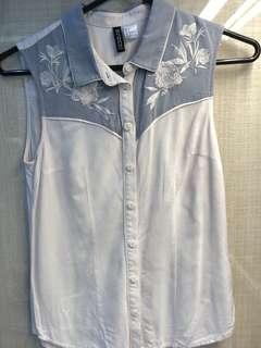 H&M blouse XS-S