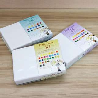 🚚 [PO] Sakura Petit Color Watercolor Field Sketch Box Set + Water Brush