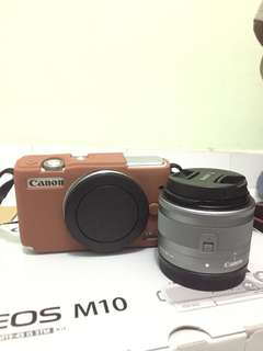 CANON EOS M10 FULL SET