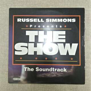 LP: (Russell Simmons presents) The Show - The Soundtrack Album Vinyl Record
