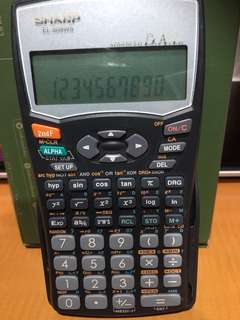Sharp EL-509WS Scientific Calculator