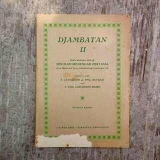 Buku Kuno Djambatan II - Buku Bahasa Untuk SMP