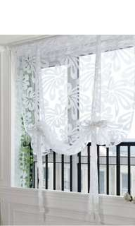 1pc Fabulous Floral Window Voile Sheer Door Curtain 0.8*1M(WxH)