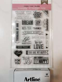 Clear Stamps Art & Craft