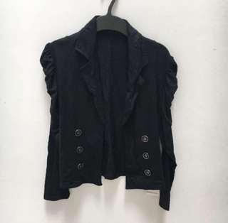 BARU Puffy blazer black