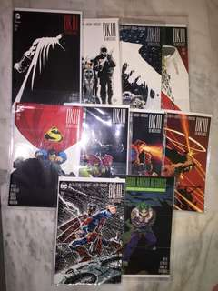 🚚 Batman Dark Knight III Master Race complete set