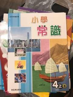 小學 四年班 教科書及練習  16 本 教育