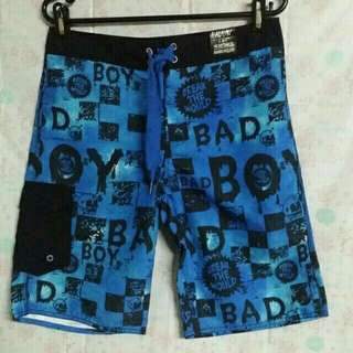 Authentic BAD BOY Break the Mould Youth Board Shorts for Boys