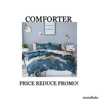 COMFORTER PROMOTION