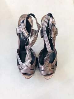 Charles and Keith Ornate Gatsby Heels