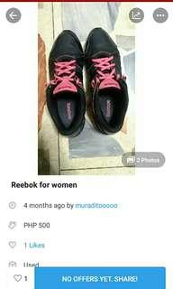 PRICE REDUCED!!! REEBOK FOR WOMEN