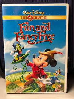 Walt Disney Fun and Fancy Free DVD