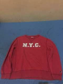 Crewneck Champion NYC