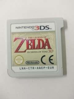 Nintendo 3DS Zelda ocarina of Time