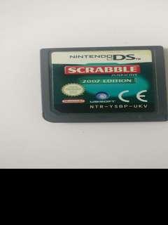 Nintendo DS Scrabble cartridge